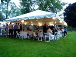 Rental store for 20 X30  WHITE 1 PC FRAME TENTS in Mishawaka IN