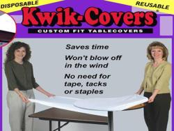 Rental store for 48  ROUND WHITE PLASTIC KWIK COVER in Mishawaka IN