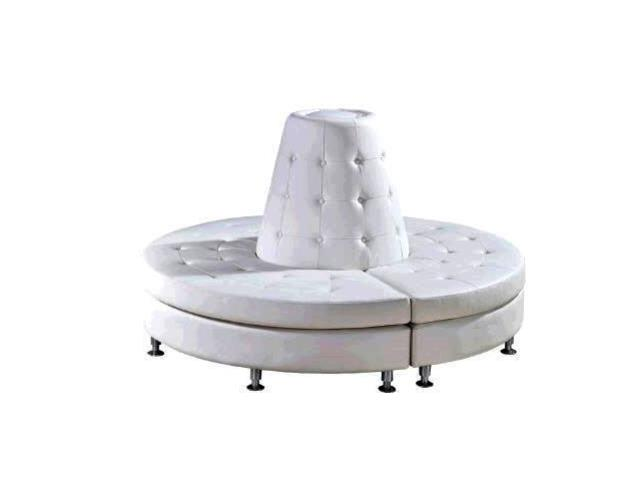 Where to find WHITE LEATHER CONE SEATING PKG in Mishawaka