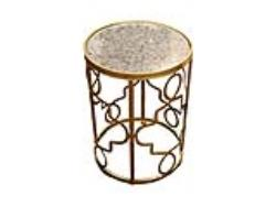 Rental store for LARGE GOLD SWIRL ACCENT TABLE in Mishawaka IN