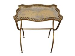 Rental store for GOLD TRAY ACCENT TABLE in Mishawaka IN