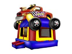 Rental store for INFLATABLE, MONSTER TRUCK MOONWALK 15x15 in Mishawaka IN