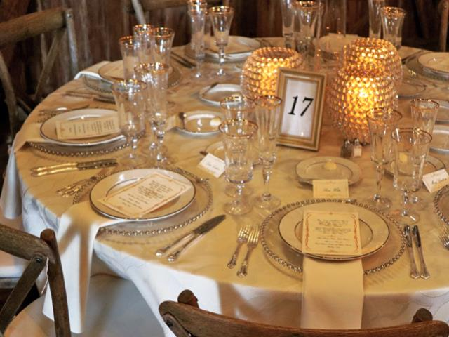gold table number frame 4x6 burns special event rentals mishawaka