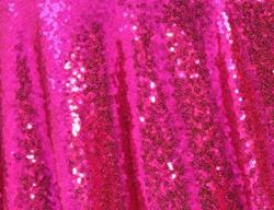 Rental store for HOT PINK SEQUIN LINEN in Mishawaka IN