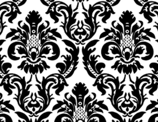 Where to find BLACK WHITE DAMASK LINEN in Mishawaka