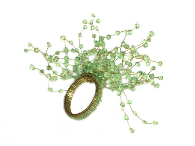 Where to find STARBURST NAPKIN RING GREEN in Mishawaka