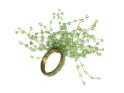 Rental store for STARBURST NAPKIN RING GREEN in Mishawaka IN