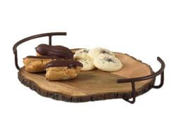Rental store for WOODEN SERVING TRAY 14 in Mishawaka IN