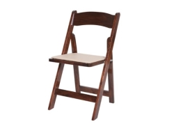 Rental store for FRUITWOOD PADDED FOLDING CHAIR in Mishawaka IN